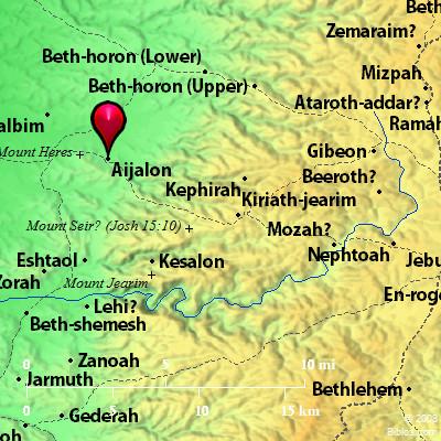 el basalto y la gloria Aijalon