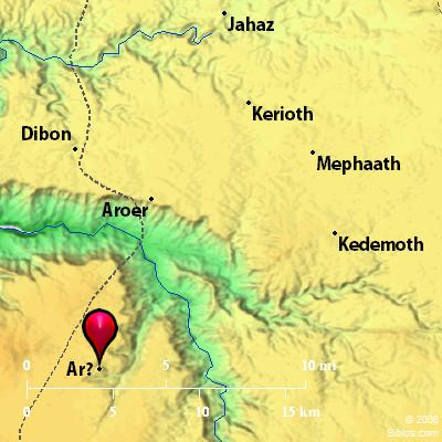 Bible Map: Ar