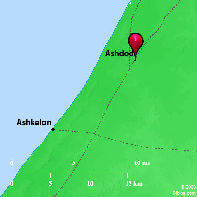 Bible Map: Ashdod
