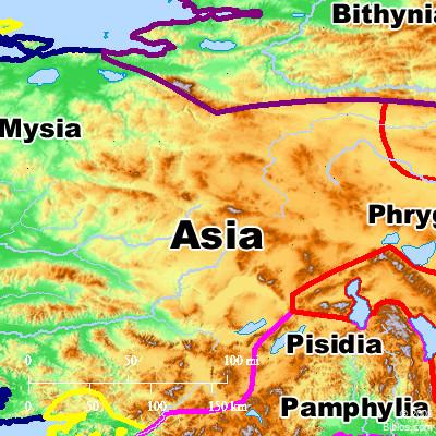 bible map asia