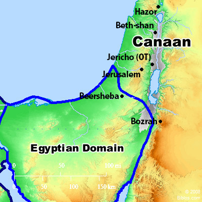 Bible Map: Canaan
