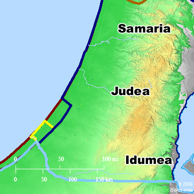 Bible Map Judea