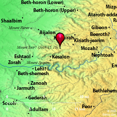 bible map mount seir 2