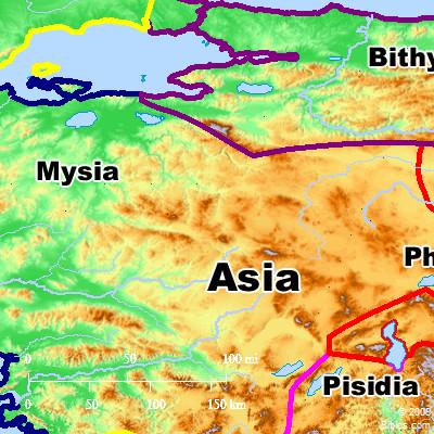 Bible Map Mysia