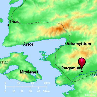 Pergamon Map