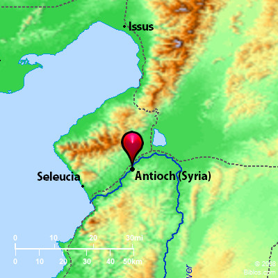 Bible Map: Syrian Antioch