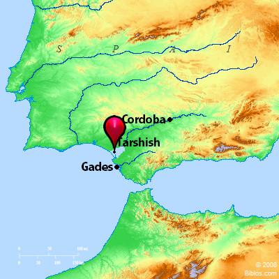 Bible Map: Tarshish