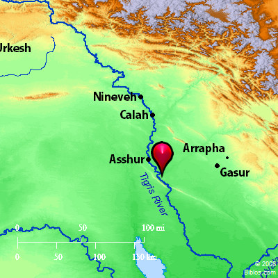 Bible Map Tigris River - Tigris and euphrates river map