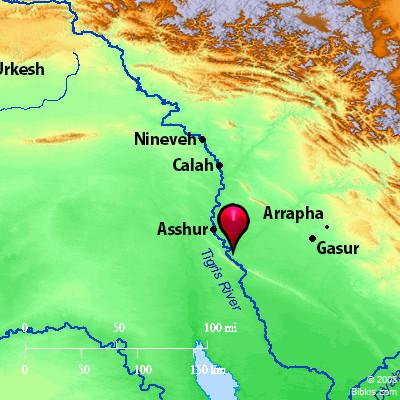 Tigris River Map Bible Map: Tigris River Tigris River Map