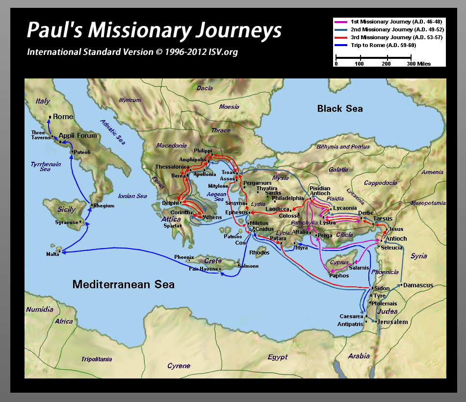 pauls missionary journey essay Running head: paul's three missionary journeys paul's three missionary journeys the first missionary journey of paul essaythe first missionary.