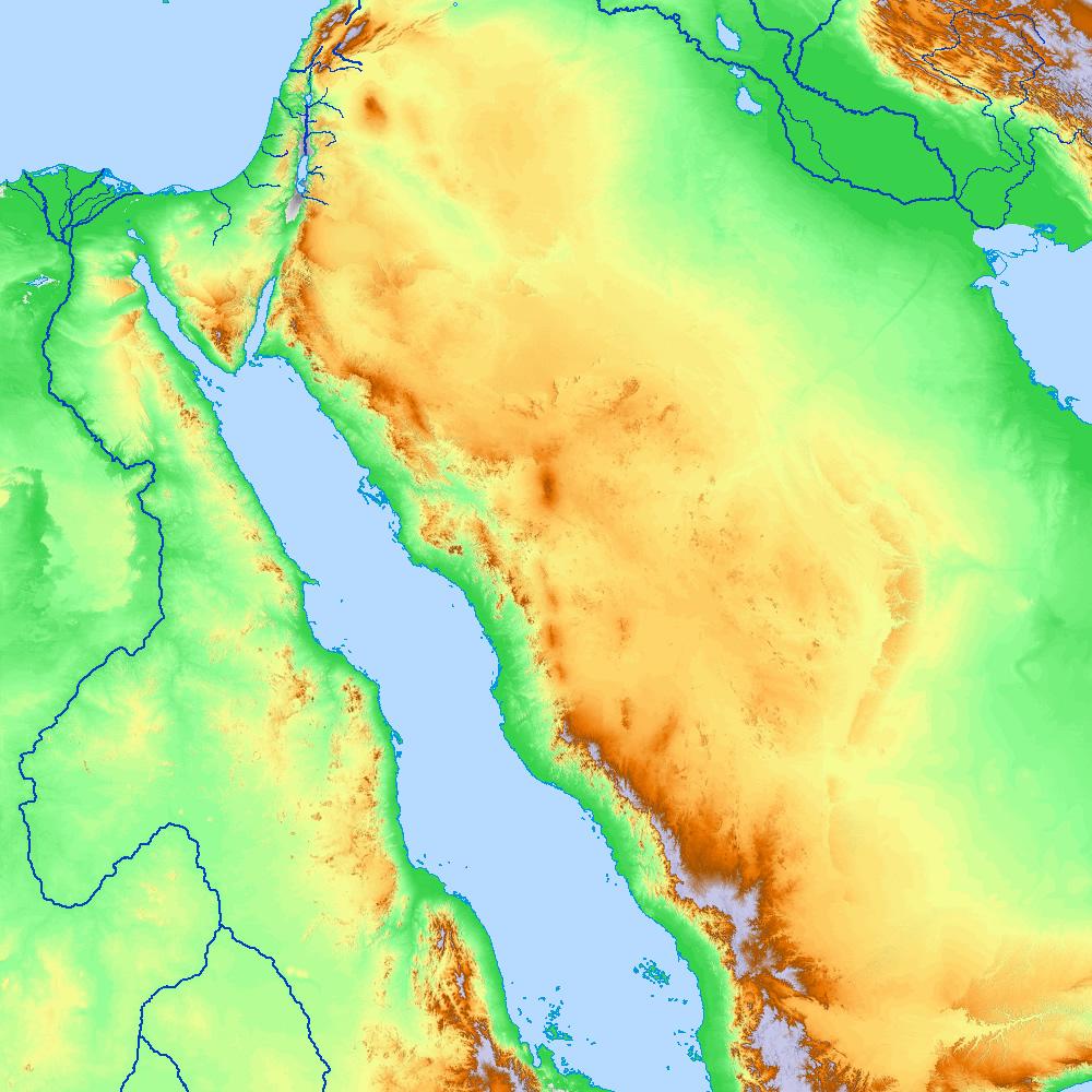 Bible Map: Eden